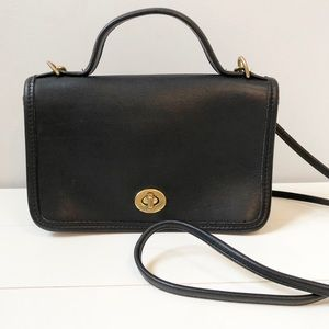 Coach Vintage Casino Top Handle Crossbody Bag